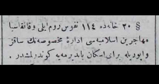 114 Muhacir Bandırma'ya gönderildi