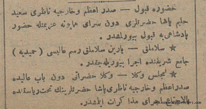 3 Haziran 1915 Haberleri