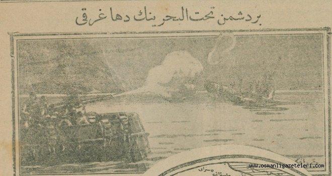 Çanakkale'de bir düşman denizaltısı daha batırıldı
