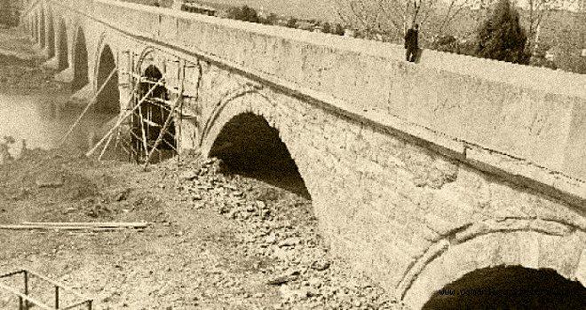 Ertuğrul sancağındaki köprünün tadilatı