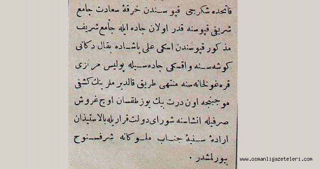 Fatih'te bu mahallelerin kaldırımları yenileniyor (1891)