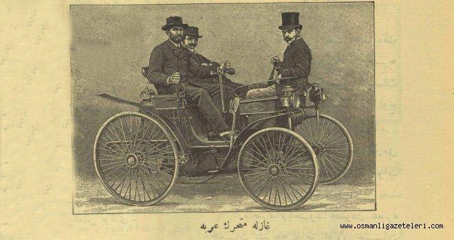 Gazla hareket eden araba üretildi (1892)