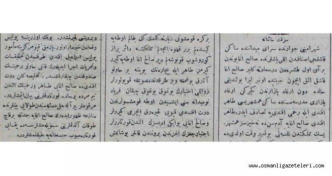 Haince Hırsızlık (24 Temmuz 1900)