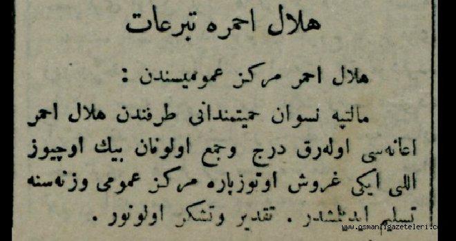 Hilal-i Ahmer'e Teberruat (bağış)