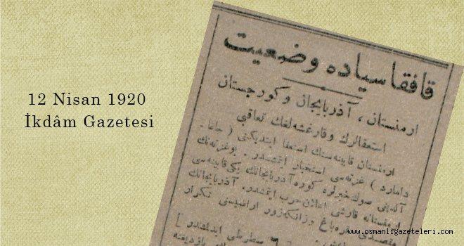 Kafkasya'da Vazʻiyet
