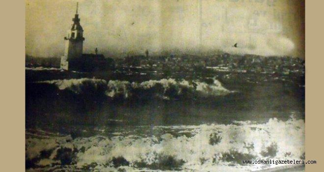Kış İstanbul'da şiddetli geçiyor (1900)