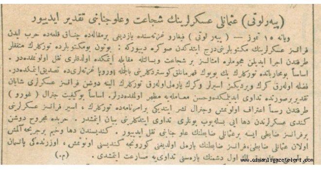 Piyer Loti Çanakkale'yi ve Osmanlı askerlerinin kahramanlığını yazdı